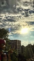 23/06/2016 day 305 : sunrise over the city 02 (shaye.photo@yahoo.fr) Tags: city light sunset summer sky sun paris weather sunrise landscape outdoors sunny figurine miss meteo project365 365days 500px 365photos iphonephoto iohone missmeteo ifttt iphone6s