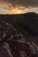 New Mexico ([ raymond ]) Tags: sunset newmexico southwest vertical horizon rocky