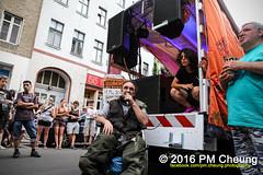 X*CSD 2016 - Yalla auf die Strae! Queer bleibt radikal! / Yalla to the streets  queer stays radical!  25.06.2016  Berlin - IMG_5460 (PM Cheung) Tags: kreuzberg refugees parade demonstration queer polizei so36 csd neuklln 2016 christopherstreetday ausbeutung heinrichplatz flchtlinge rassismus sexismus homophobie xcsd diskriminierung oranienplatz transgenialercsd csdberlin m99 heteronormativitt tcsd berlincsd lgbtqi gentrifizierung oplatz pmcheung csdkreuzberg pomengcheung sdblock facebookcompmcheungphotography gerharthauptmannrealschule transgendern eincsdinkreuzberg mengcheungpo friedel54 yallaaufdiestrasequeerbleibtradikal kreuzbergercsd2016 yallatothestreetsqueerstaysradical christopherstreetday2016 euro2016fussballem 25062016