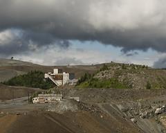 Asbestos Mine, Quebec, Canada (kurttavares) Tags: summer canada outside nikon mine exterior quebec mining appalachia asbestos chaudireappalaches