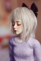 Hear You Me (IssyBJD) Tags: sleeping ball asian doll bjd abjd msd jointed 410 narae bimong artbimong