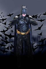 The Dark Knight (l plater) Tags: cosplay batman dccomics brucewayne sydneyolympicpark supanovaexposydney2016 thedarkkngight