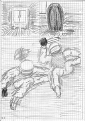 Page 53 (uchechinonso) Tags: shibuya internet cafe tokyo japan scylla swat police