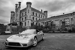 2004 Silverstone Acura NSX-T in Joliet, IL (brylek6) Tags: 2005 2003 old 2002 2004 honda prime prison silverstone jail acura joliet nsx na2 nsxt nsxca