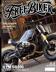 Vol.44 (ducktail964) Tags: magazine chopper taiwan bmw custombike freebiker r9t