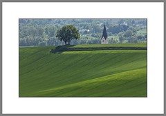 Green green grass of home.. (alfred.hausberger) Tags: spring bad landschaft baum frhling niederbayern hgel kirchturm griesbach rottal karpfham updatecollection