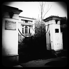 - (Manor Dolgoroukys-Bobrinskys) (Andrey  B. Barhatov) Tags: city urban blackandwhite bw history noir msk worldmap citywalks iphonecamera kitcam