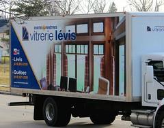 Vitrerie Levis (Jacques Trempe 2,810K hits - Merci-Thanks) Tags: advertising quebec publicity levis publicite vehicule stefoy vitrerie