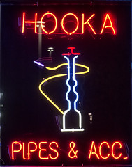 HOOKA PIPES & ACC. (Pixel-Pusher) Tags: sign neon nightshot pipes accessories hooka