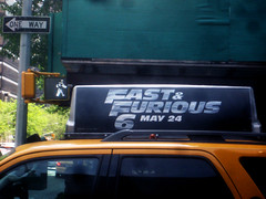 Fast and Furious 6 Billboard ADs 9931 (Brechtbug) Tags: new york city nyc urban 6 cinema cars up car racecar work painting movie poster this drive smash paint theater driving all action crash working fast racing billboard advertisement chase billboards worker roads gotham em six lead furious 2013