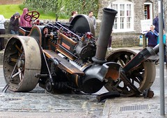 Thing's you see on a Sunday Afternoon ! (David Blandford photography) Tags: crash traction engine graham froud corfecastle