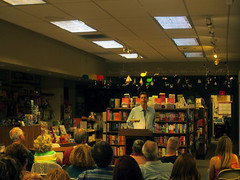 "Author Fred Stoller discussing his book ""Maybe We'll Have You Back"" (Warwick's Books) Tags: books actor booksigning memoir warwicks authorsigning warwicksbooks fredstoller maybewellhaveyouback"