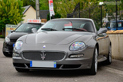 Maserati GranSport V8 (Alexandre Prvot) Tags: auto france cars car sport automobile european parking transport automotive voiture route exotic supercar luxe berline 52 exotics supercars joinville ges hautemarne dplacement 52300 worldcars grandestsupercars
