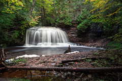 a couple miles into the woods (Marty Hogan) Tags: rockriver rockriverfalls michiganwaterfall algercountymichigan