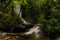 Upper Catawba Falls, North Carolina (photographybyjameshoffman) Tags: forest waterfall falls national cascade cataract pisgah catawba northcarolinamountains