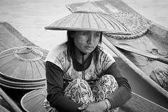 Deep in Thought (trickyd3) Tags: burma thoughtful myanmar inlelake burmese lostinthought shanstate remembering taunggyi thegoldenland burmeselady