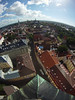 Rooftopping a Church (tarmo888) Tags: roof shadow vertical europe tallinn estonia aerialview medieval unesco fisheye special oldtown tallin eesti estland katus tallinna vanalinn vari oleviste harjumaa photoimage gopro sooc roundearth welcometoestonia rooftopping таллин visitestonia geosetter geotaggedphoto hdhero фотоfoto таллінн positivelysurprising year2013