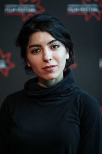 The 37-year old daughter of father Mohsen Makhmalbaf and mother Marzieh Meshkini, 160 cm tall Samira Makhmalbaf in 2017 photo