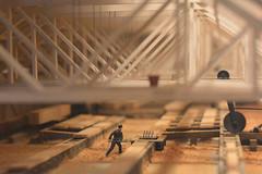 wood worker (OneLushLIfe - Kaishin) Tags: wood history museum vancouver model factory dof bokeh shaving figurine mov 2013