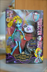 Yippeeeeh... she's here! (Lenekie) Tags: monster toy high doll lagoona lagoonablue 13wnsche monsterhigh 13wishes