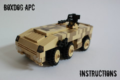 Boxdog APC Instructions ([DARKWATER]) Tags: lego instructions apc usapc thepurge legoapc apcinstructions thepurgeinstructions boxdogapc