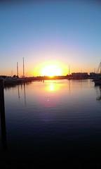 Sunset over Villamoura marina (suesambrook) Tags: sunset portugal villamoura