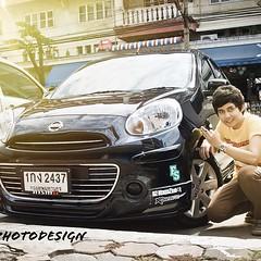 บริการเก็บรอยยิ้มและภาพความประทับใจทุกเหตุการณ์สำคัญ #nissan #march #thai #k13 #photographer #th #ecocar