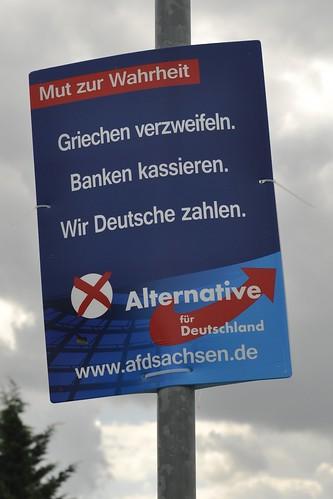 Griechen verzweifeln. Banken kassieren. Wir Deutsche zahlen.