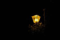Street lamp (FlorianBoehm) Tags: street old city light black glass lamp electric metal night vintage dark three town streetlight exterior streetlamp antique background decoration nobody historic retro lamppost electricity lantern oldfashioned