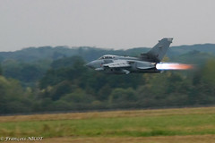 Tornado (François NICOT) Tags: france digital canon eos fighter aircraft jets attack jet ground airshow bomber tornado rennes raf nato afterburner 40d lowflyer