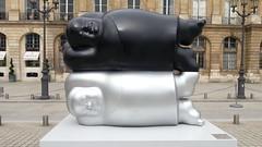 Li Chen - Place Vendme (THEfunkyman) Tags: paris art statue li place exposition chen faved vendme