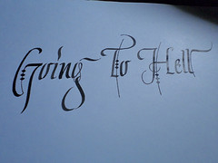 gth (Ink) Tags: calligraphy italic inok