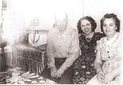 Joseph Costa, Erma (Miranda) Teixeira, Margaret Costa, 42 John Stree,and later Armstrong Avet. Fox Point. (Fox Point Photo History) Tags: costa miranda perry johnstreet amaral