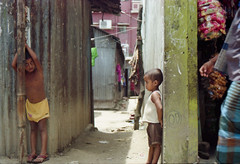 Keen Observers on Watch (Sheikh Shahriar Ahmed) Tags: street film kids analog kid para candid streetlife nikonfm10 fujifilm dhaka bangladesh bhuiyan 3570mmf3548 fujicolorc200 dhakadivision meradia epsonv330 sheikhshahriarahmed