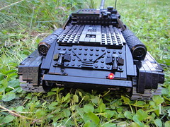 SU-100 [MOC] (dustyen055) Tags: black tank lego technic moc su100 dustyen055