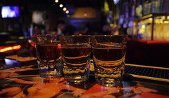 Jameson Shots (chiva1908) Tags: irish bar drunk out la losangeles los nikon downtown angeles bokeh shots whiskey down liquor alcohol hd downtownla dtla jameson downandout barhopping irishwhiskey teamnikon downout hdphotography d5100 wdydt nikond5100 chiva1908