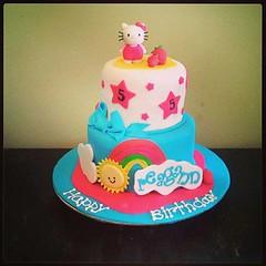Hello Kitty cake by Amanda, Harford Cnty, Maryland, www.birthdaycakes4free.com