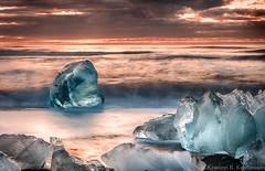 From The Archives (Kristinn R.) Tags: sea sky ice beach clouds sunrise blacksand iceland nikon jökulsárlón d3x nikonphotography breiðamerkursandur kristinnr