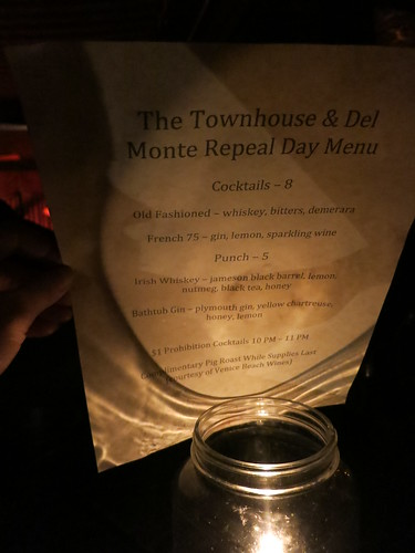 Prohibition Night Del Monte Speakeasy Venice