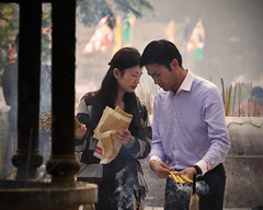 (LaCameraObscura) Tags: hk canon lens island temple eos big village buddha hong kong monastery 7d po l 28 lin ping 70200 ef lantau ngong 2013