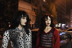 hello (alpgiraykelem) Tags: hello street turkey model fuji dress finepix dummy izmir xpro1 alpgiray kelem