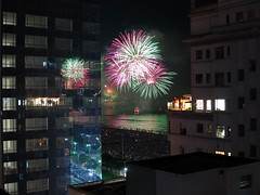 2014 (De Santis) Tags: reveillon brazil praia beach brasil canon fireworks sp santos anonovo fogosdeartifício 2014 s100 canal1 josémenino fernandodesantis