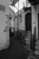 Via (Linus Wrn) Tags: street leica windows blackandwhite bw italy monochrome mono blackwhite alley steps via narrow abruzzo sulmona leicadlux5