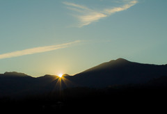 Tramonto (Paolo.Sarteschi) Tags: sunset sky italy sun canon landscape italia tuscany ita toscana sole veduta monti 2014 1100d