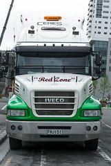 street newzealand christchurch architecture truck buildings crane nz cbd