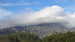 ElsPorts, the rainbow, Regenbogen (Marlis1) Tags: arcoiris clouds rainbow day cloudy wolken regenbogen elsports weatherphotography marlis1 tortosacataluaespaa canong15