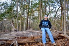 DSC_0029 (ZachT98) Tags: trees forest log woods oakleys