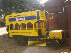 Have you had your Weetabix? (quicksilver coaches) Tags: miniature kettering weetabix btype wicksteedpark lionomnibus