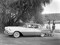 1956 Oldsmobile 88 4-Door Sedan (Railroad Jack) Tags: