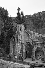 the ruined monastery of All Saints in the northern Black Forest (4) (BZK2011) Tags: schwarzwald blackforest allsaints kloster allerheiligen klosterruine
